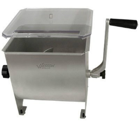Weston 20-Pound Stainless Steel Meat Mixer
