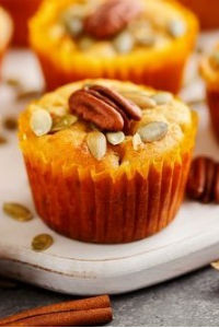 Healthy Pumpkin Muffins Two Ways