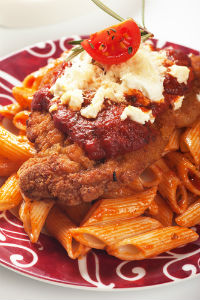 Italian Tomato Chicken & Penne