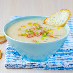 Creamy Chicken Leek Soup