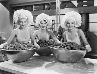 Gargantuan mixer bowls!