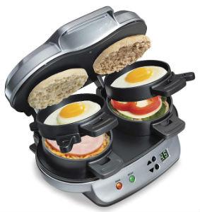 Hamilton Beach Egg Breakfast Sandwich Maker (Dual)