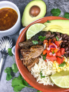 Instant Pot Pork Carnitas Bowls