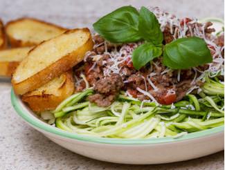 KitchenAid mixer spiralizer attachment -healthy meals
