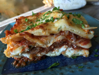 5-Cheese Meat Lasagna