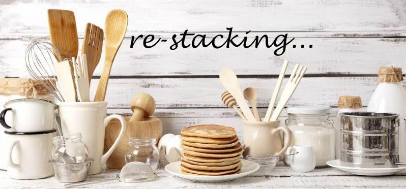Presto kitchen griddles - Re-Stacking
