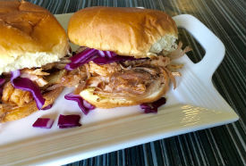 Pulled BBQ Pork Sliders