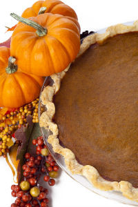 Pumpkin Pie from Scratch for Thanksgiving