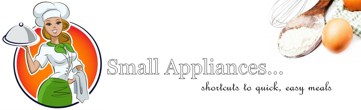 Small Appliance Shortcuts header image
