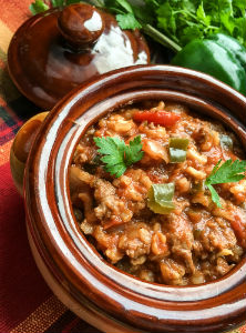 Stuffed Poblano Pepper Soup