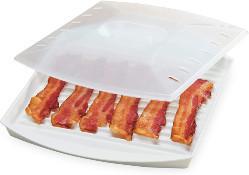 Tovolo bacon rack microwave