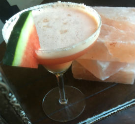Spiced Watermelon Margarita