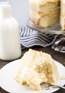 Classic White Layer Cake