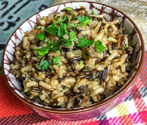 Instant Pot® Wild Rice Pilaf