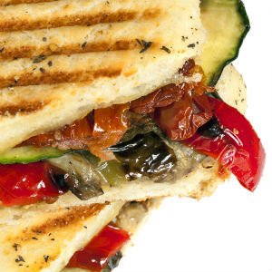 how to make a panini sandwich at home