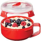 microwave oatmeal bowl