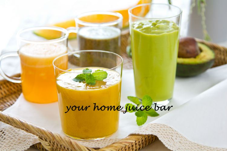 Your own juice bar with the best home blender